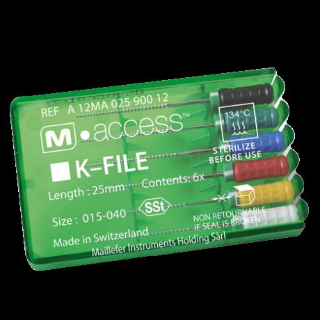 m acces k file